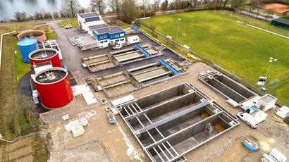 Neue Rohrleitungen für die Erweiterung ARA Bad Zurzach